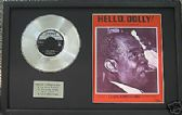 "LOUIS ARMSTRONG 7""Platinun Disc&Songsheet  HELLO DOLLY"
